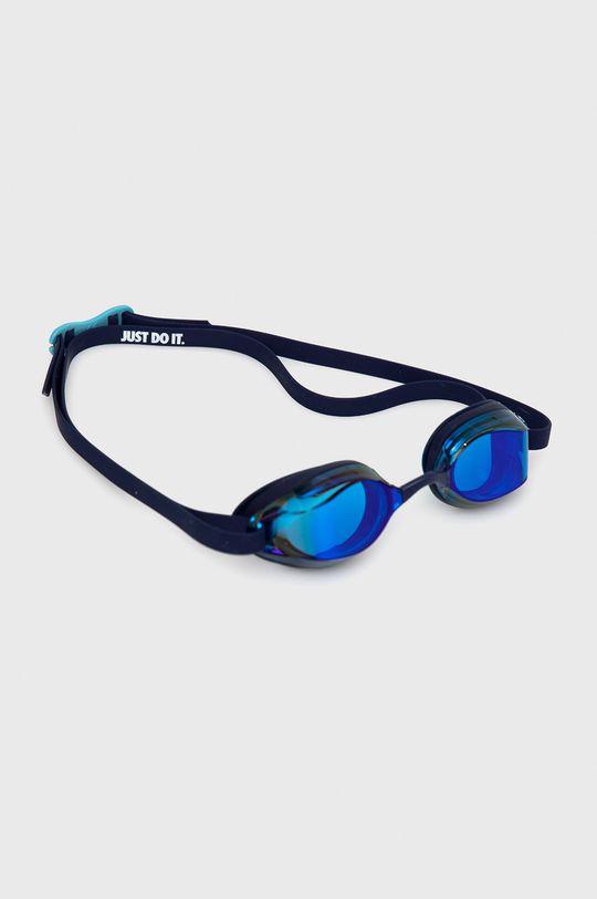 granatowy Nike - Okulary pływackie Unisex