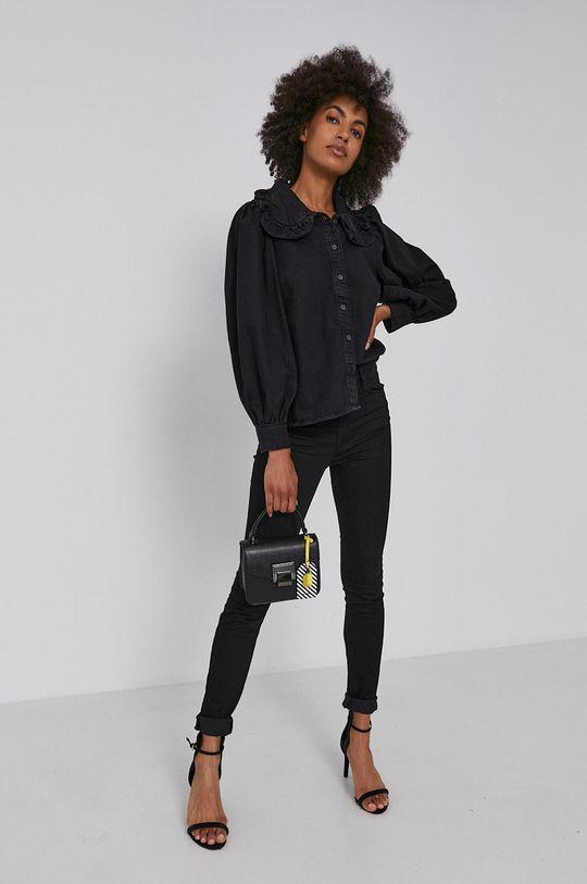czarny Levi's - Koszula bawełniana Damski