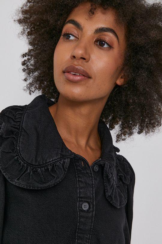 czarny Levi's - Koszula bawełniana