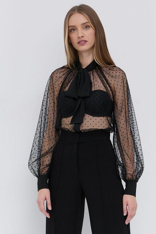 μαύρο Elisabetta Franchi - Μπλουζάκι Γυναικεία