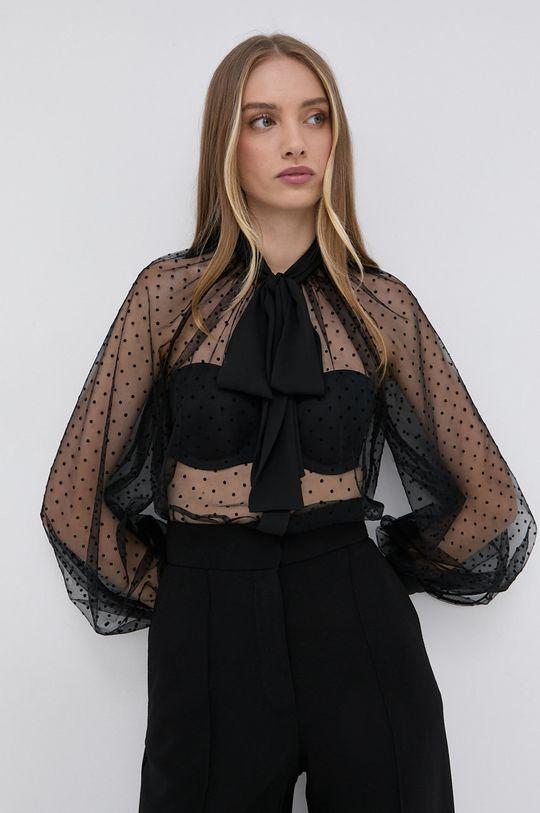 μαύρο Elisabetta Franchi - Μπλουζάκι