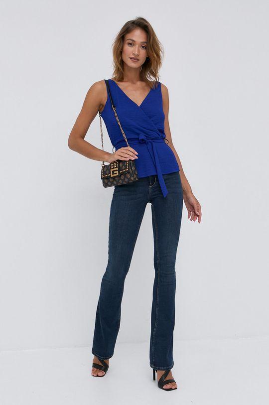 Morgan - Bluzka niebieski