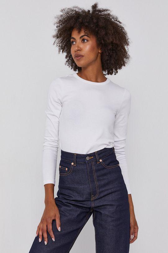 biela GAP - Tričko s dlhým rukávom Dámsky