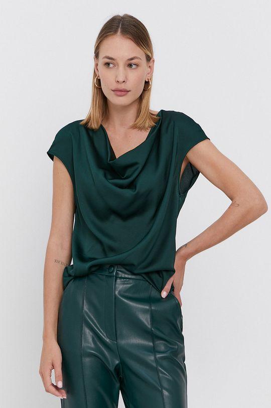 zielony Sisley - Bluzka Damski