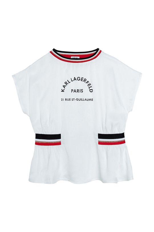 Karl Lagerfeld - Bluza copii alb
