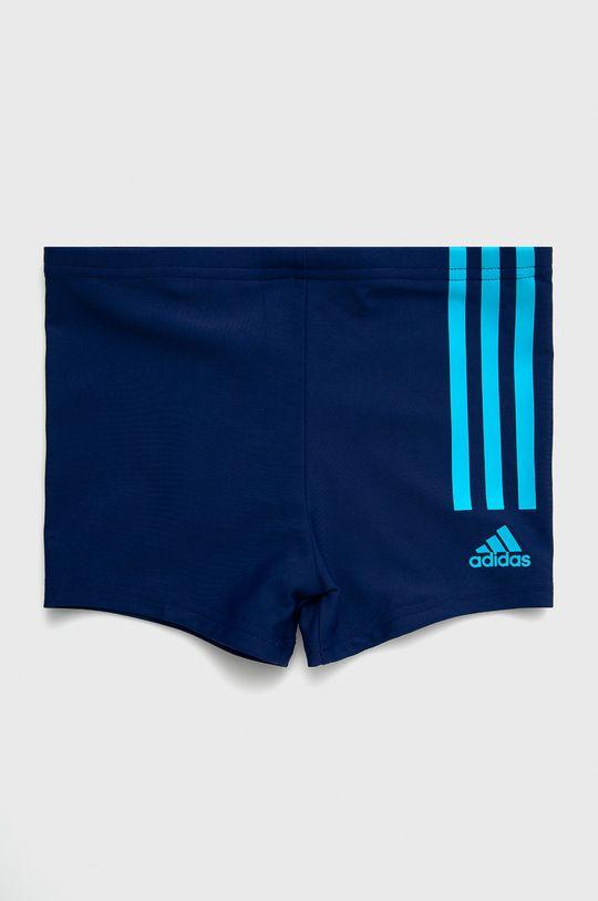 modrá adidas Performance - Dětské plavky Chlapecký