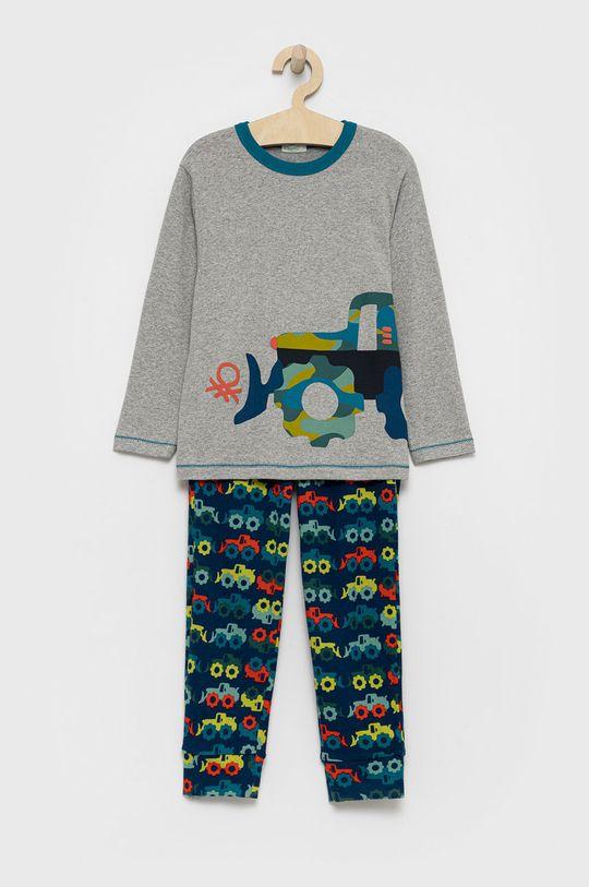 ανοιχτό γκρι United Colors of Benetton - Παιδική πιτζάμα Για αγόρια