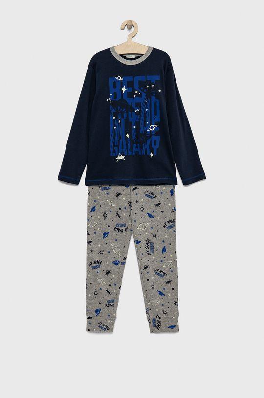 σκούρο μπλε United Colors of Benetton - Παιδική πιτζάμα Για αγόρια