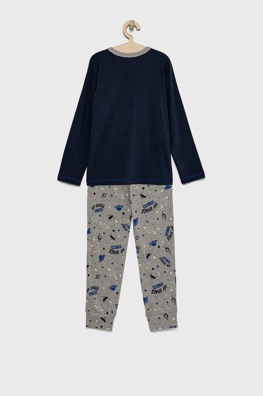 United Colors of Benetton - Παιδική πιτζάμα σκούρο μπλε