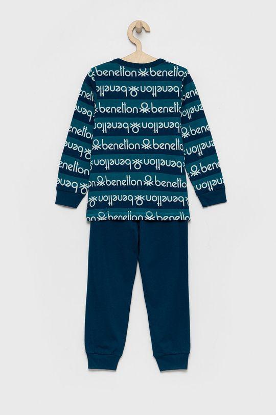 United Colors of Benetton - Piżama dziecięca niebieski