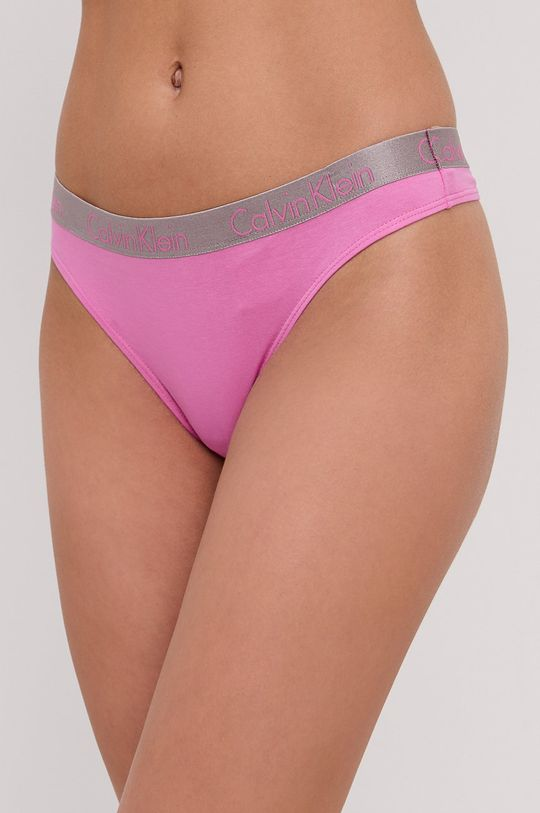 ostry różowy Calvin Klein Underwear - Stringi Damski