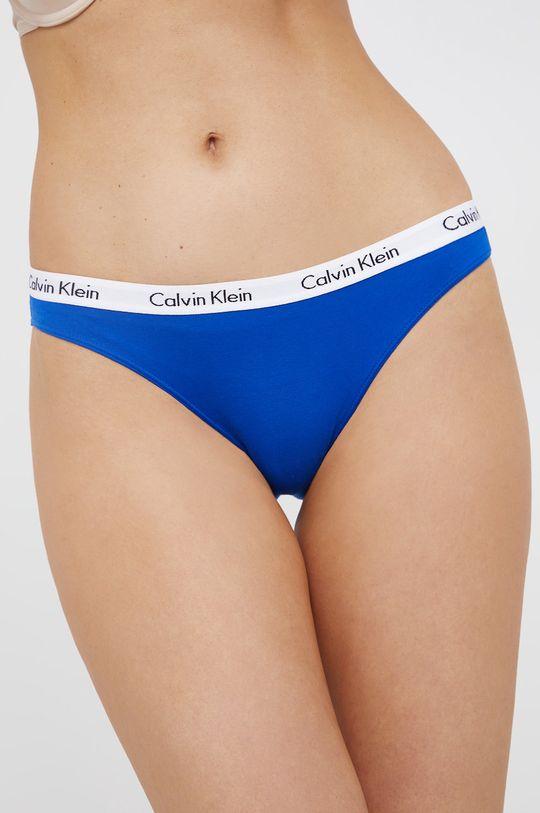 Calvin Klein Underwear - Figi (3-PACK) niebieski