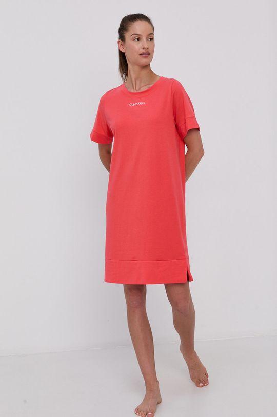Calvin Klein Underwear - Noční košilka korálová
