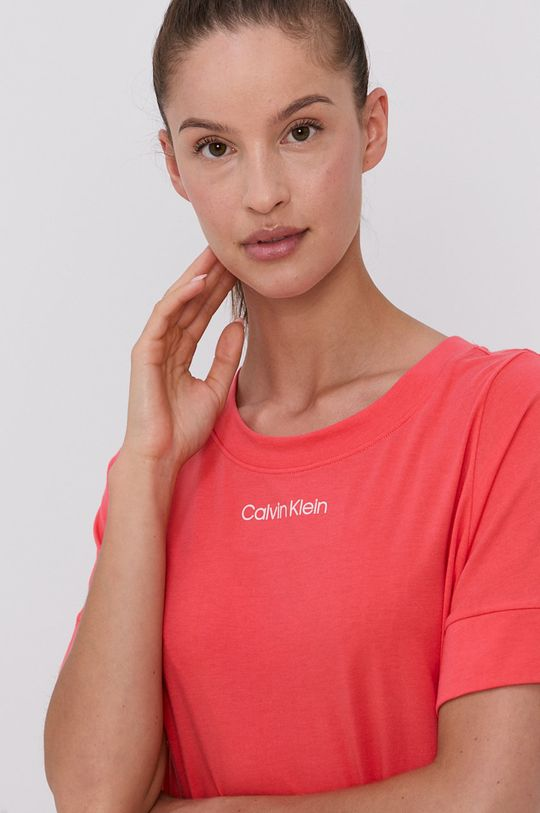 korálová Calvin Klein Underwear - Noční košilka