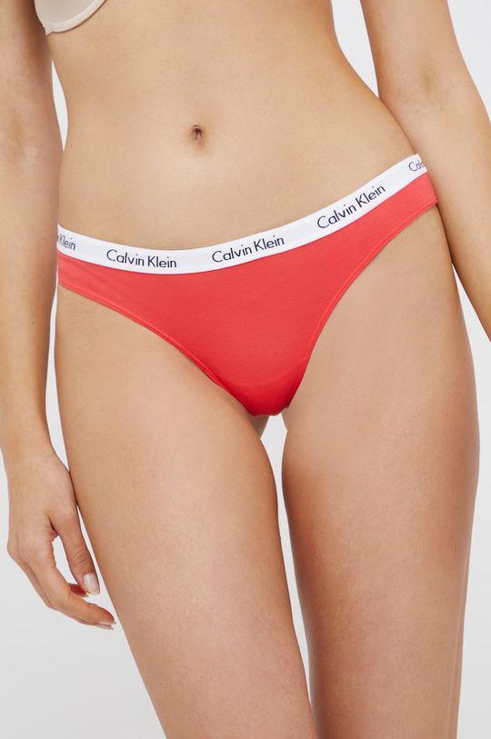 różowy Calvin Klein Underwear - Stringi Damski