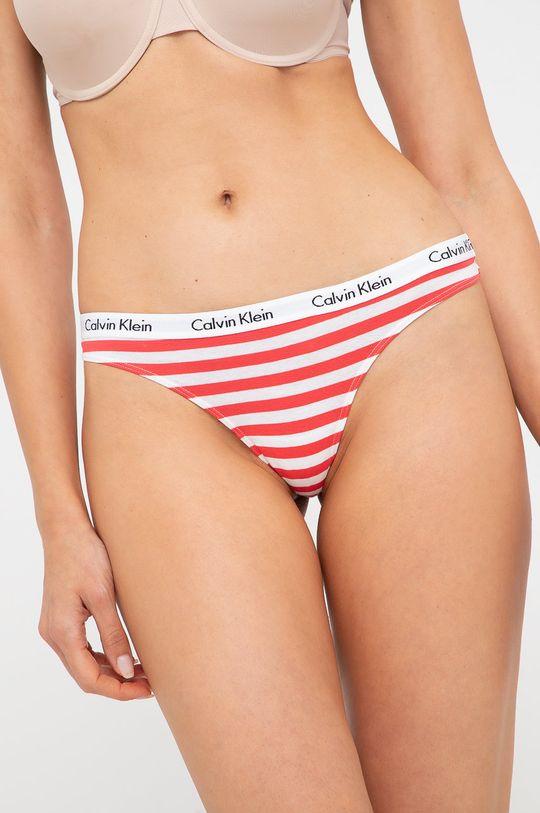 Calvin Klein Underwear - Stringi (3-PACK) niebieski
