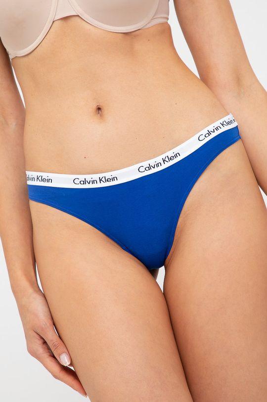 Calvin Klein Underwear - Stringi (3-PACK) Materiał 1: 90 % Bawełna, 10 % Elastan, Materiał 2: 9 % Elastan, 64 % Nylon, 27 % Poliester