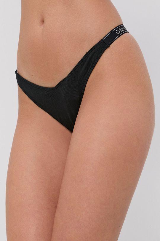 czarny Calvin Klein Underwear - Stringi Damski
