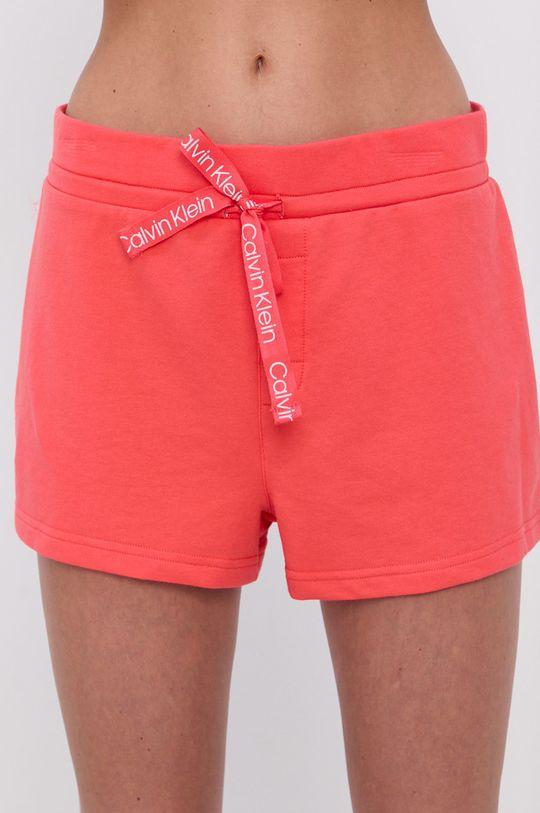 koralowy Calvin Klein Underwear - Szorty piżamowe Damski