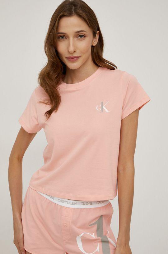 Calvin Klein Underwear - Piżama CK One różowy