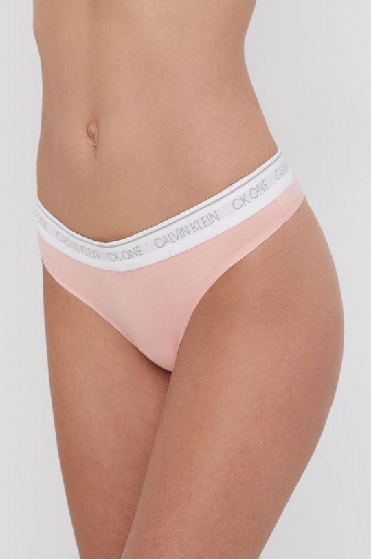 pastelově růžová Calvin Klein Underwear - Tanga Dámský