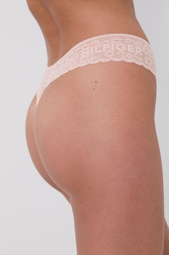 růžová Tommy Hilfiger - Tanga (3-pack)