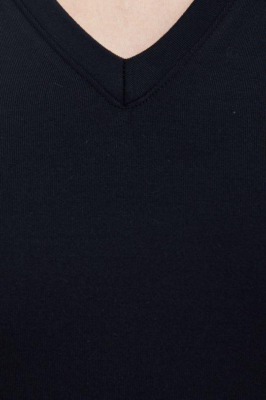 czarny Spanx - Longsleeve modelujący SLEEVE V-NECK BODYSUIT