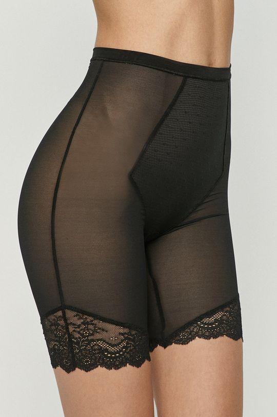 černá Spanx - Modelující šortky Spotlight On Lace Dámský