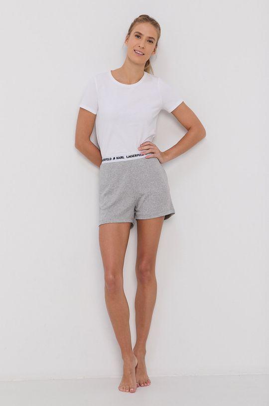jasny szary Karl Lagerfeld - Szorty piżamowe Damski