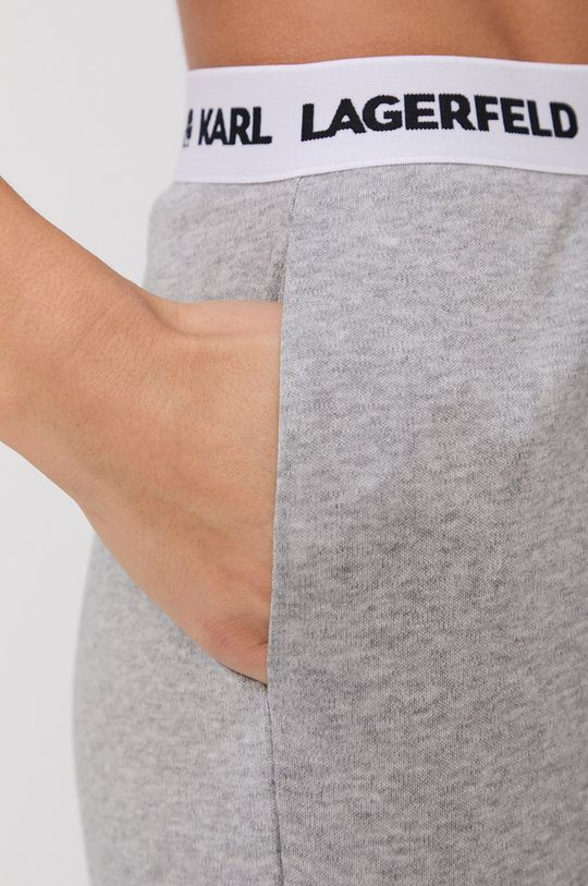 jasny szary Karl Lagerfeld - Szorty piżamowe