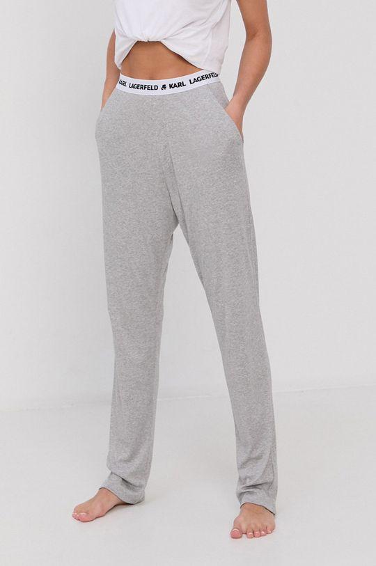 jasny szary Karl Lagerfeld - Spodnie piżamowe Damski
