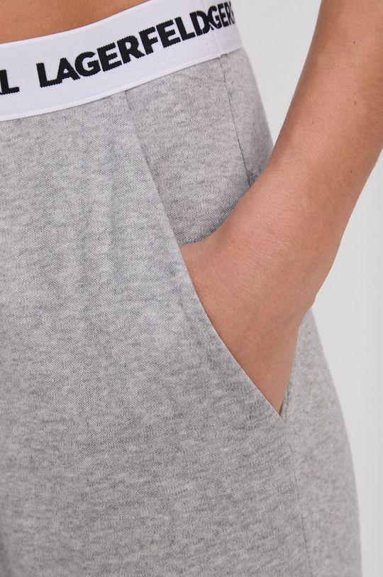 jasny szary Karl Lagerfeld - Spodnie piżamowe