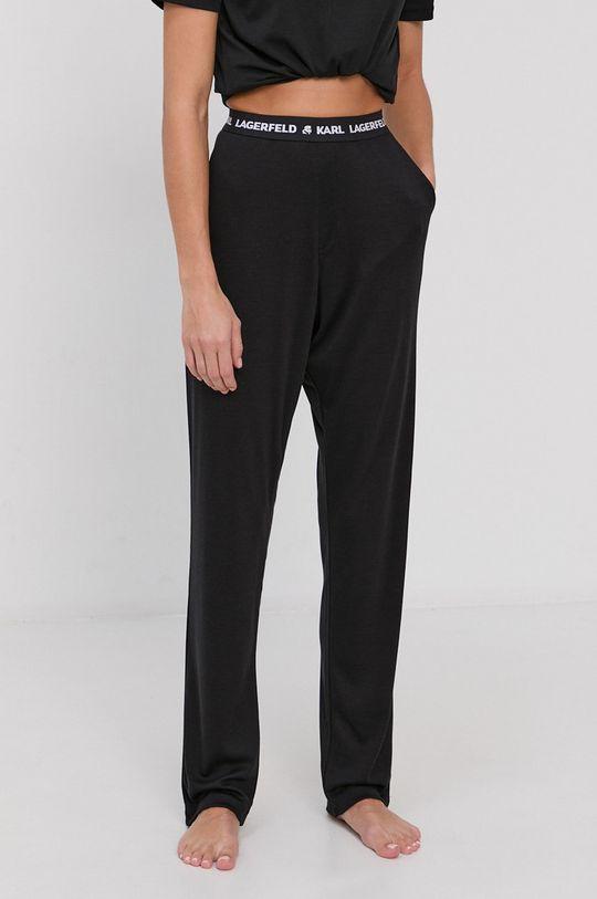 czarny Karl Lagerfeld - Spodnie piżamowe Damski