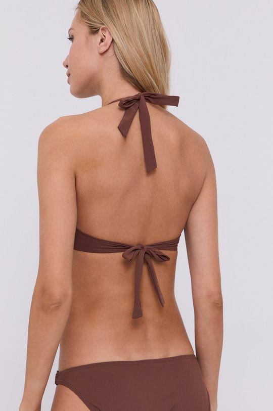 Tory Burch - Biustonosz kąpielowy brązowy