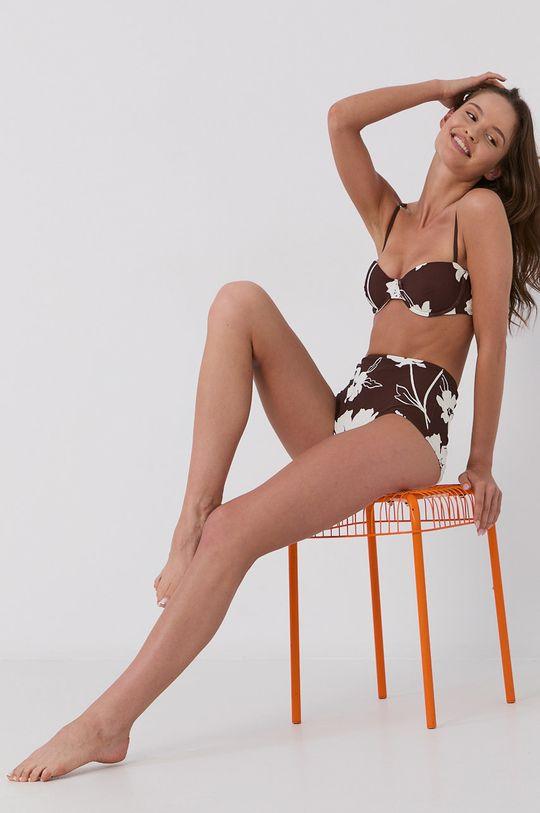 brązowy Tory Burch - Figi kąpielowe Damski