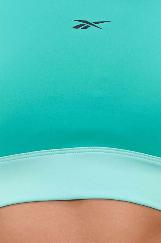 zielony Reebok - Biustonosz