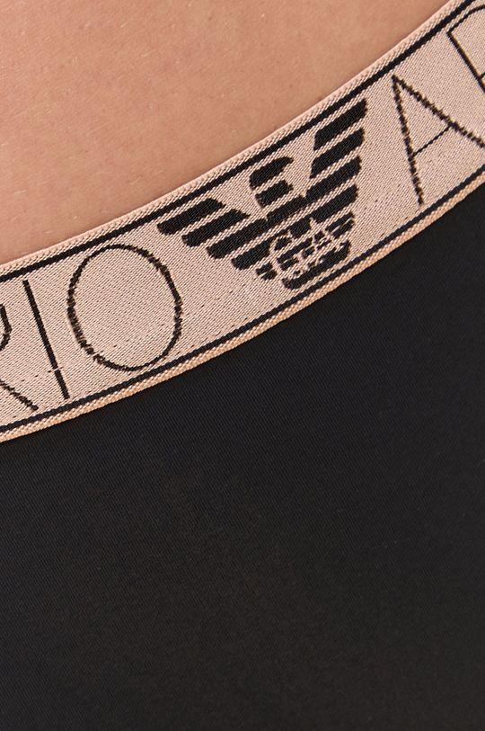 Emporio Armani Underwear - Tangá  1. látka: 14% Elastan, 86% Polyamid 2. látka: 9% Elastan, 63% Polyamid, 28% Polyester 3. látka: 100% Bavlna