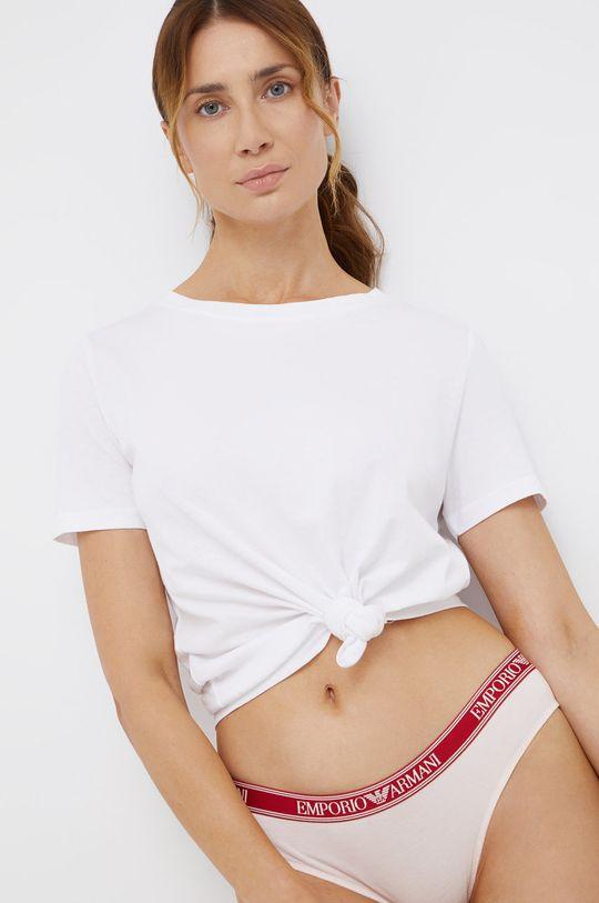 Emporio Armani Underwear - Chiloti  Materialul de baza: 95% Bumbac, 5% Elastan Captuseala: 95% Bumbac, 5% Elastan Banda elastica: 10% Elastan, 90% Poliester