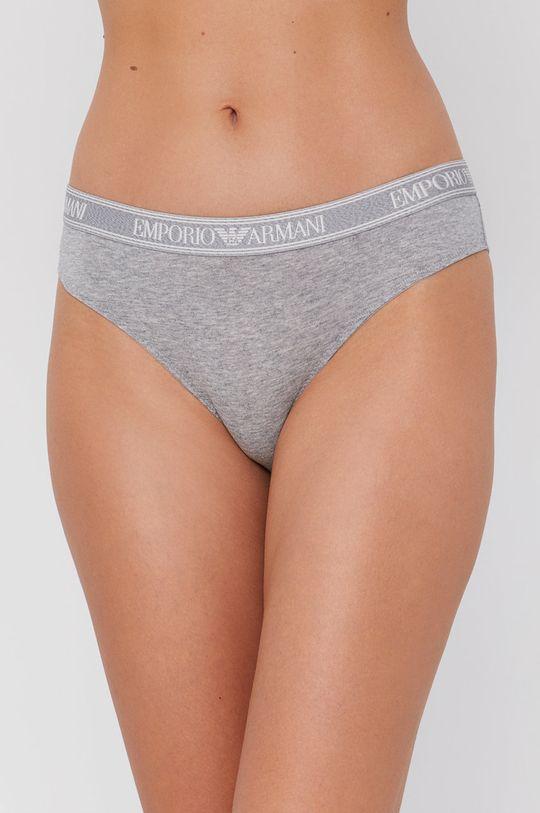 szary Emporio Armani Underwear - Figi Damski