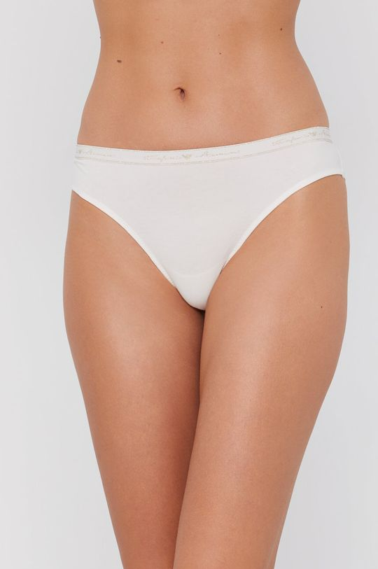 kremowy Emporio Armani Underwear - Brazyliany Damski