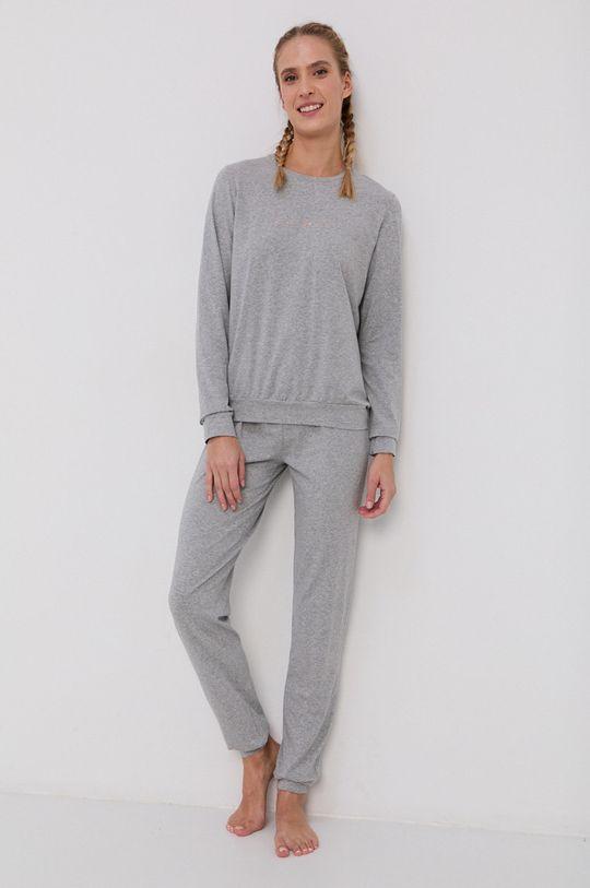 szary Emporio Armani Underwear - Komplet piżamowy Damski
