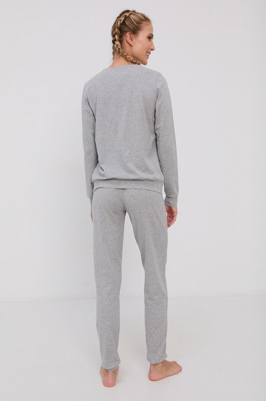 Emporio Armani Underwear - Komplet piżamowy szary