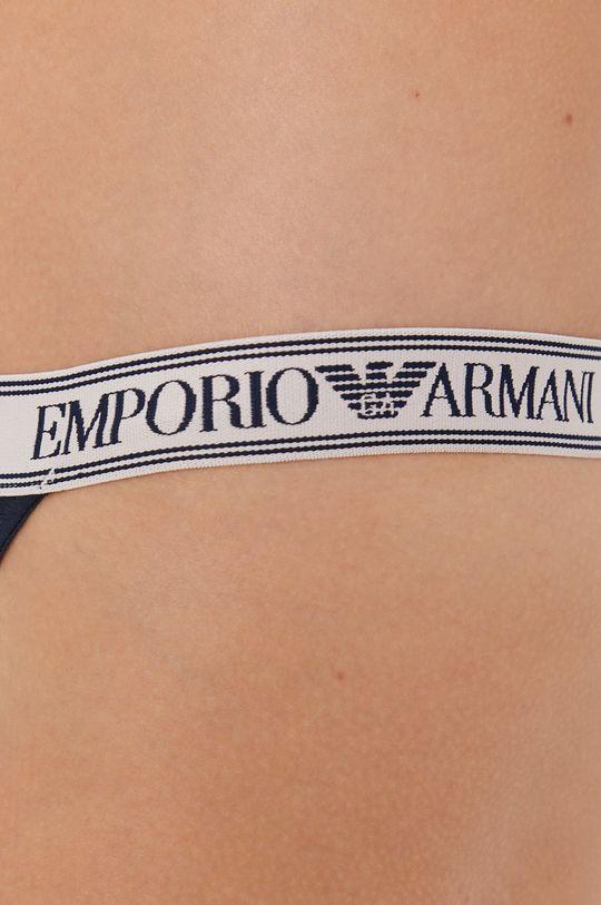 Emporio Armani Underwear - Tanga  Materialul de baza: 95% Bumbac, 5% Elastan Captuseala: 95% Bumbac, 5% Elastan Banda elastica: 10% Elastan, 90% Poliester
