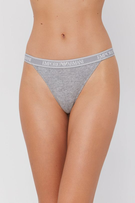 gri Emporio Armani Underwear - Tanga De femei