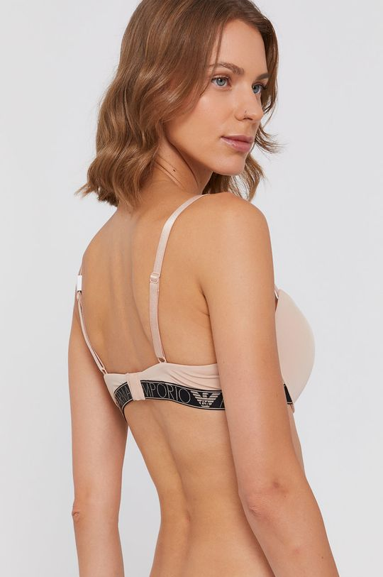 Emporio Armani Underwear - Tvarujúca podprsenka béžová