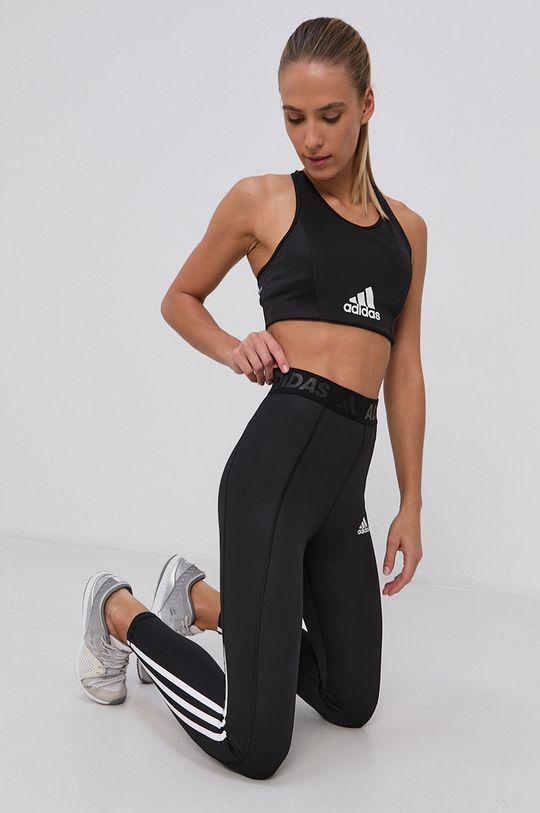 adidas - Športová podprsenka čierna