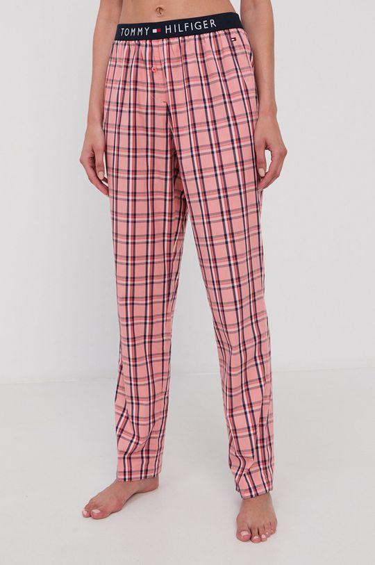 różowy Tommy Hilfiger - Spodnie piżamowe Damski
