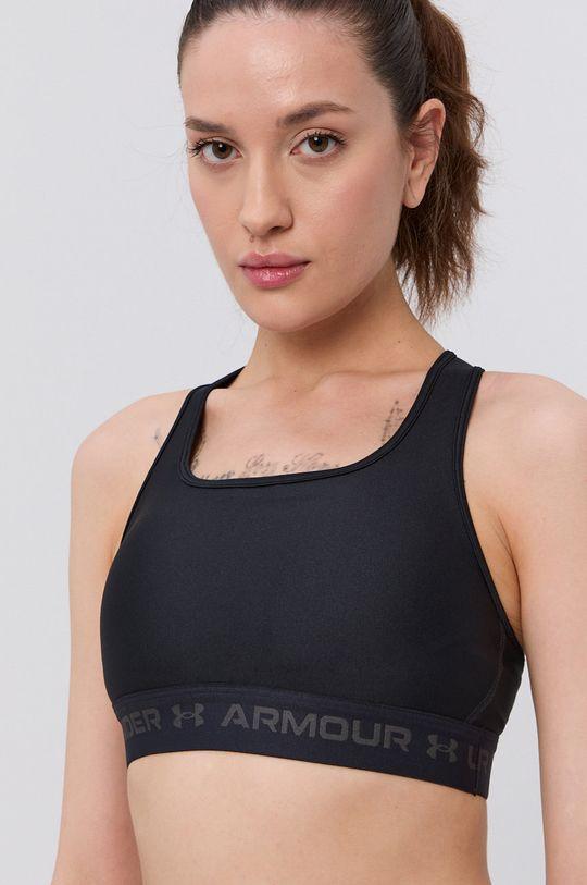 czarny Under Armour - Biustonosz sportowy Damski
