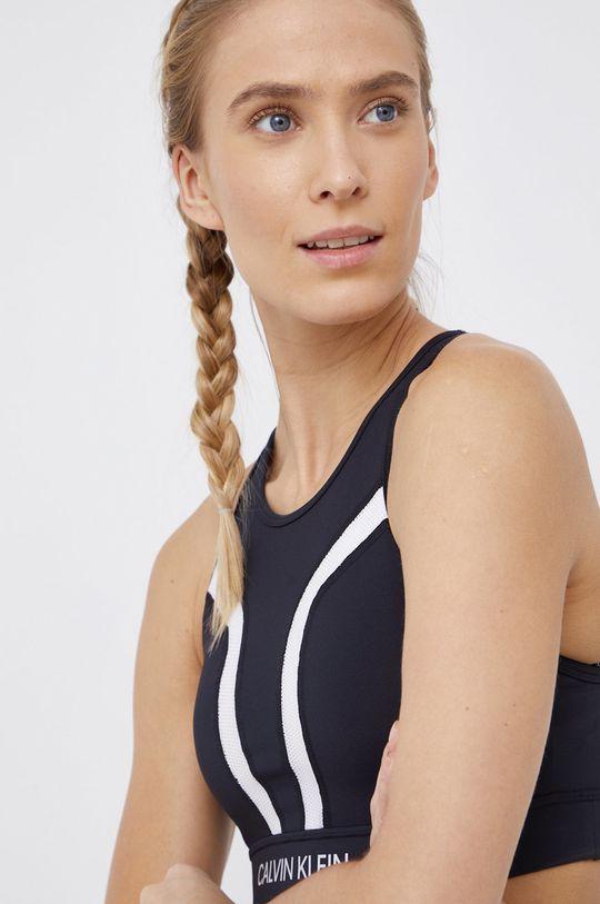 czarny Calvin Klein Performance - Biustonosz sportowy