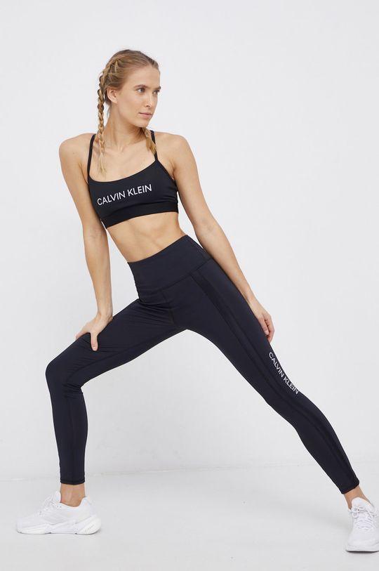 czarny Calvin Klein Performance - Biustonosz sportowy Damski